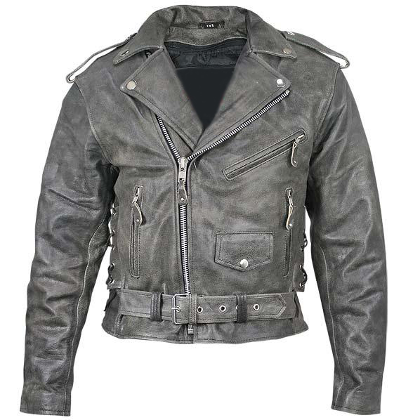 Biker Leather Jackets Mens - Jacket