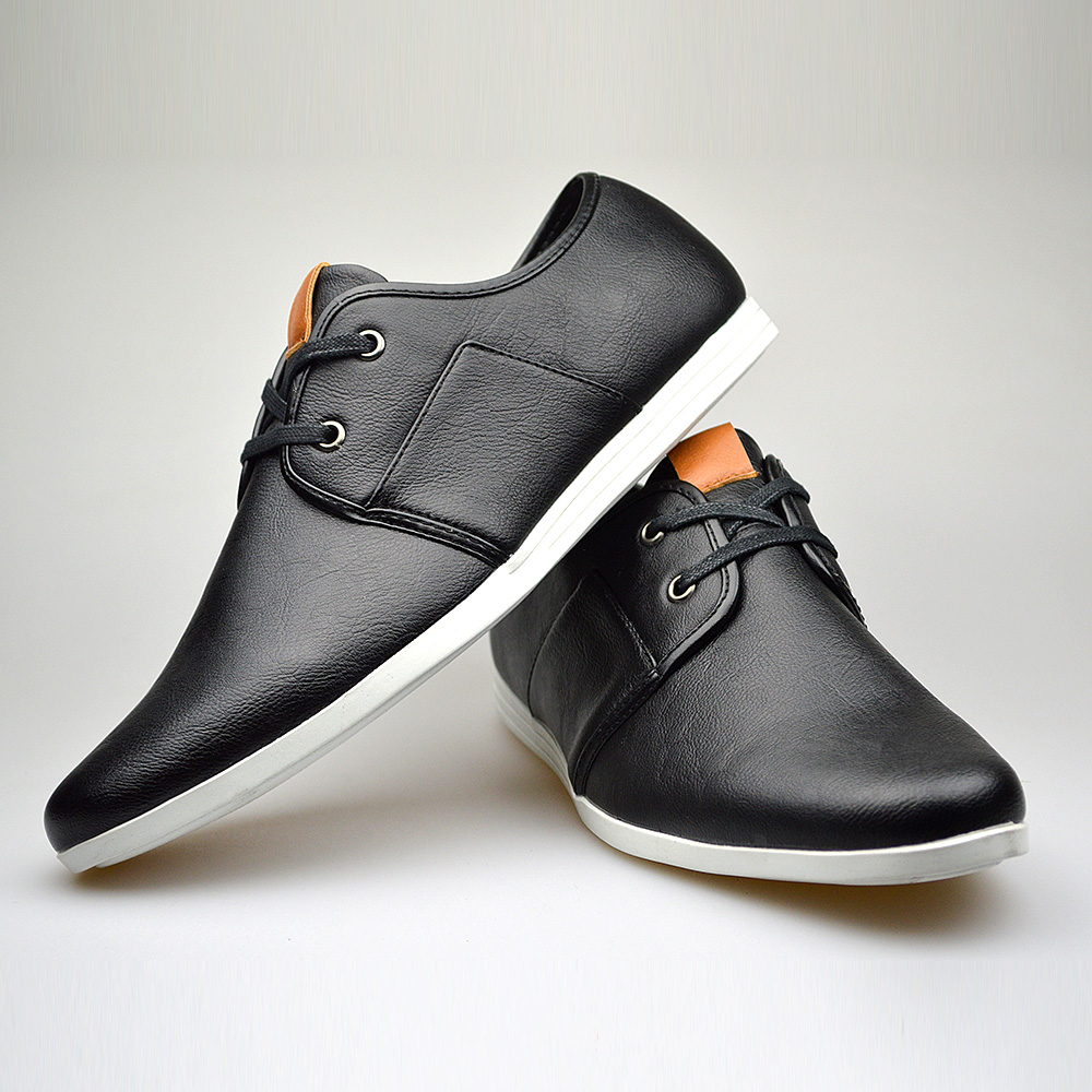 Customized Handmade Black Color Leather Men S Dress Shoes Shoes In Color Black